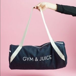 🖤 Private Party Gym & Juice Duffle Bag